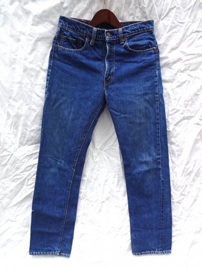 60's Vintage LEVI'S 505 BIG-E Good Condition