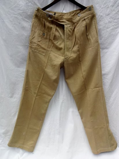 40's Vintage British Indian Army Khaki Drill Pants American made?