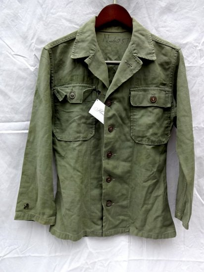 50's Vintage US Army OG-107 Utility Jacket 1st Model/1