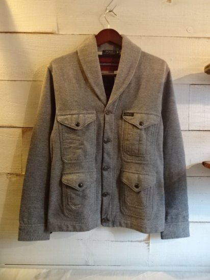 Ralph Lauren Sweat Shawl Collar Jacket<BR>SALE! 12,800 + Tax → 7,680 + Tax