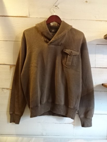 RRL Shawl Collar Sweat Shirts<BR>SALE! 14,800 + Tax → 8,880 + Tax