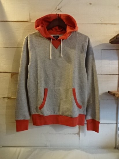 J.Crew Front Gazette Sweat Pullover Hoody<BR>SALE! 7,800 + Tax → 3,900 + Tax