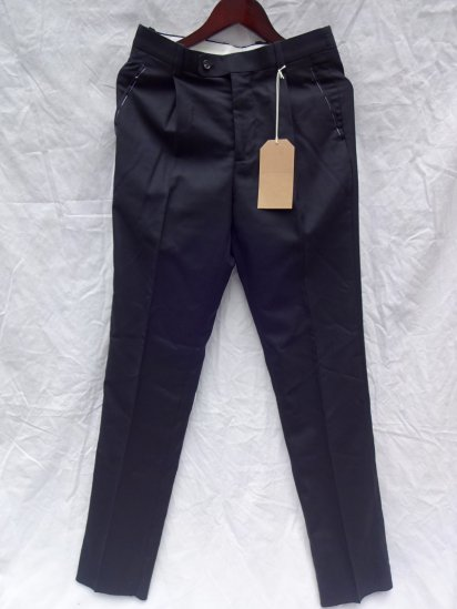 RICHFIELD Made in JAPAN Wool Trousers T-2 Navy