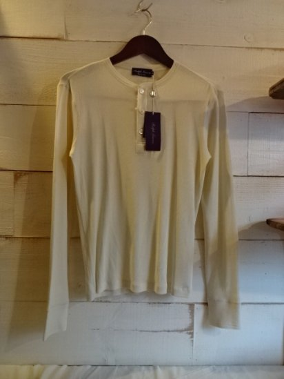 Ralph Lauren Purple Label Henley Neck Shirts Made in Italy<BR>SALE! 14,800 + Tax → 8,880 + Tax