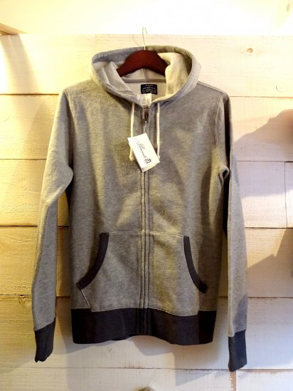 J.Crew Sweat Zip Up Parka Gray SALE! 7,800 + Tax → 3,900 + Tax
