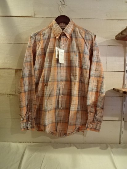 Ralph Lauren Broad Cloth Check Shirts<BR>SALE! 7,800 + Tax → 3,900 + Tax