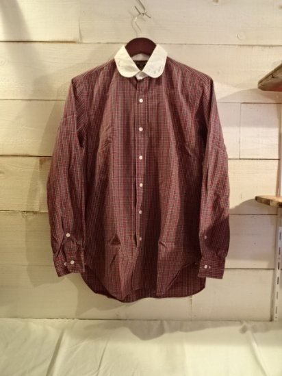 USED Ralph Lauren RUGBY Broad Cloth Check Shirts
