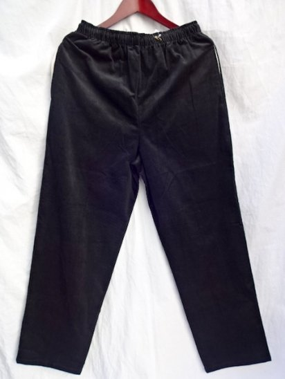 Erick Hunter Corduroy Pants Made in Japan Black