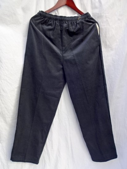 Erick Hunter Corduroy Pants Made in Japan Charcoal
