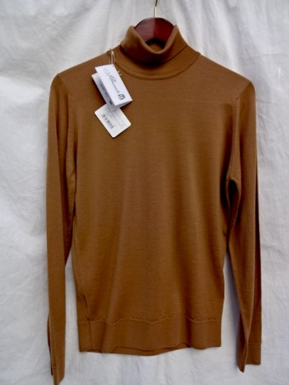 John Smedley Extra Fine Merino Wool Knit KENNAUGH PULLOVER Made in England