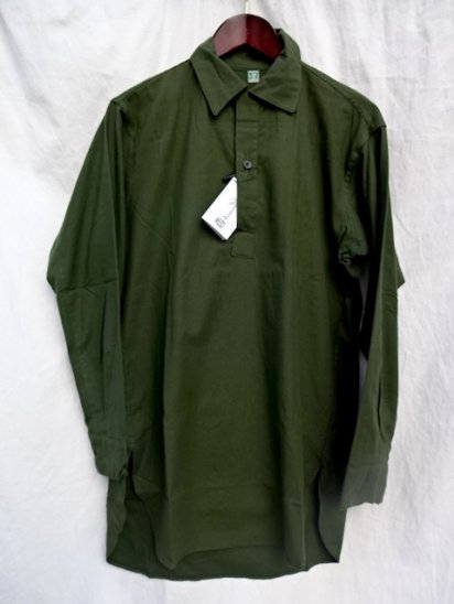 60's〜70's Vintage Dead Stock Swedish Army Pullover Shirts