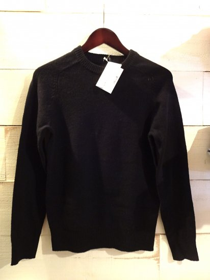 J.Crew Slim Fit Lambswool knit Black<BR>SALE! 7,800+Tax → 3,900+Tax