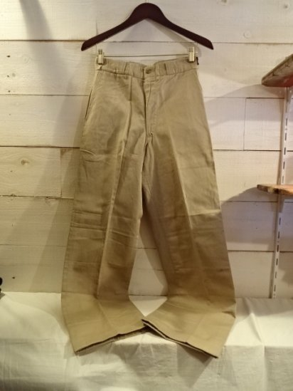 50〜60's Vintage Dead Stock RED FOX Chino Pants