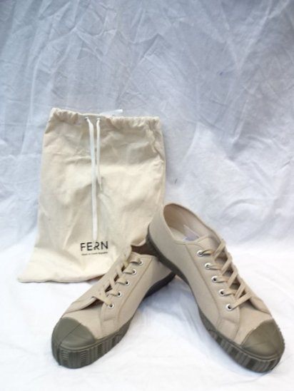FERN Camvas ARMY TYPE LOW Made in Czech Republic <br>Sand