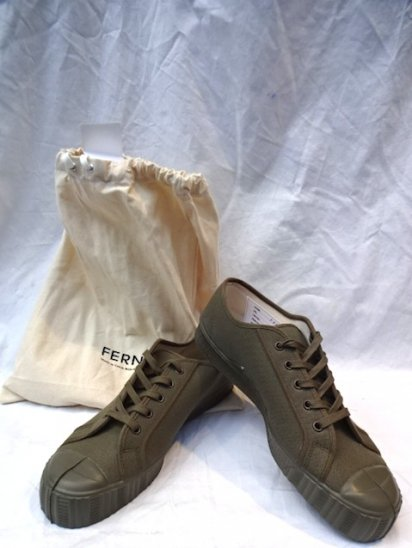 FERN Camvas ARMY TYPE LOW Made in Czech Republic <br>Military Olive
