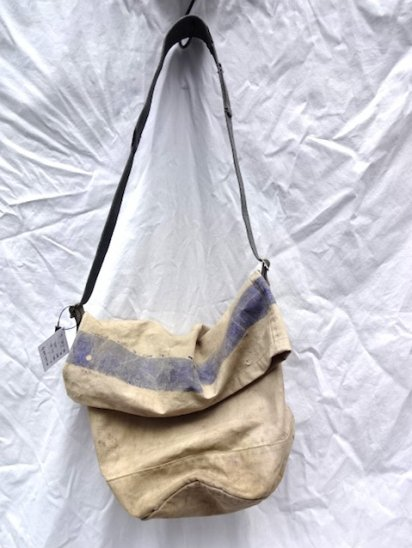 Remake Shoulder Bag  Made by 50's Vintage RAF & Equipment