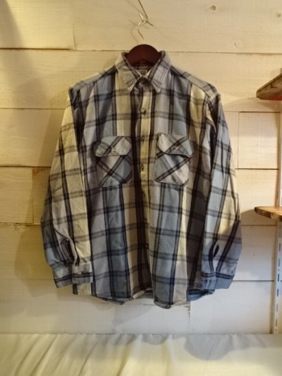 〜90's Vintage FIVE BROTHER Flannel Shirts Made in USA