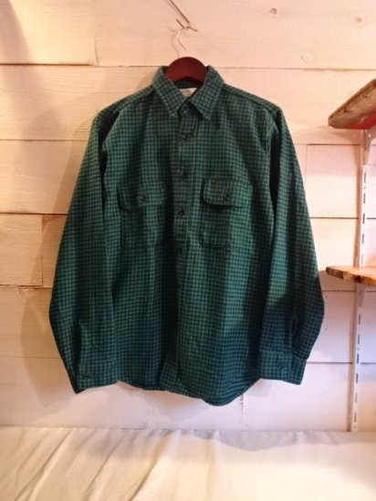 80〜90's Vintage Five Brother Flannel Shirts Made in USA Good Condition