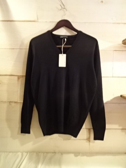 John Smedley Extra Fine Merino Wool Knit A3527 PULLOVER Made in England<BR>SPECIAL PRICE 12,800+Tax