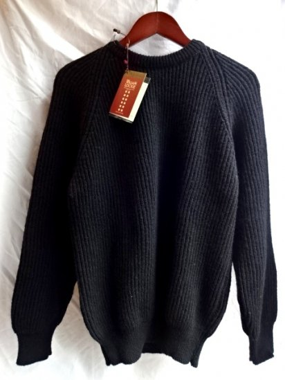 WILLIAM LOCKI Lambs Wool 100% Crew Neck Sweater MADE IN SCOTLAND