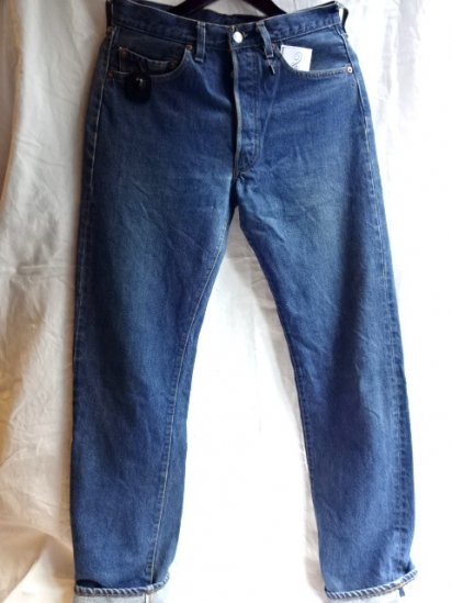 LEVI'S 501 Redline 80's Vintage Good Condition