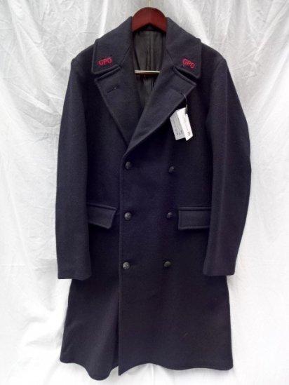 ~60's Vintage Dead Stock GPO W Breast Overcoat No.5A