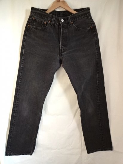 90's Old Levi's 501 Black Made in Mexico? / 9