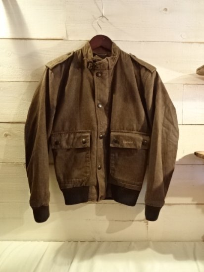 Barbour Weather Worked Flyer<BR>SALE! 39,800 + Tax → 19,800 + Tax