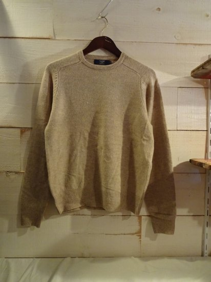 J.Crew Lambs Wool Knit Crew Neck Sweater<BR>SALE! 7,800 + Tax → 3,900 + Tax