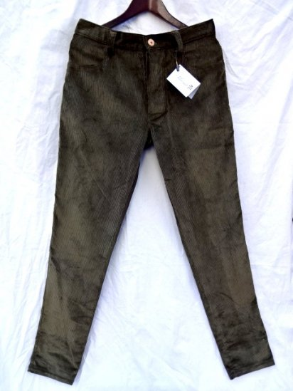 FILS DE BUTTE  Wide Wale Corduroy Pnats MADE IN FRANCE
