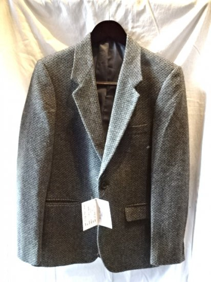 80's Vintage Dead Stock Tweed Jacket Made in Portugal/6