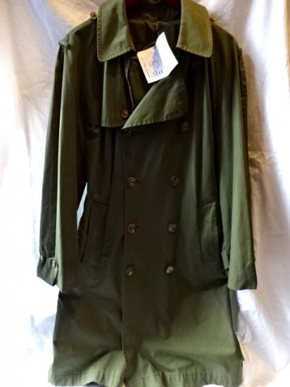 Vintage Ventile Trench Coat Made in Ireland
