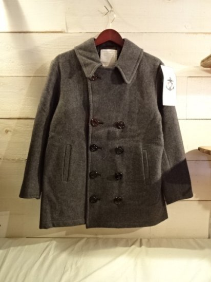 STERLINGWEAR OF BOSTON 10 Button Pea Coat Made in USA<BR>SALE! 24,800 + Tax → 10,000 + Tax