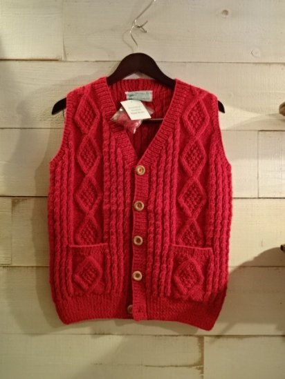 INVERALLAN 9H Button Front Vest Made in Scotland