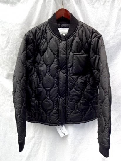 STERLINGWEAR OF BOSTON Quilted Jacket Made in USA Black