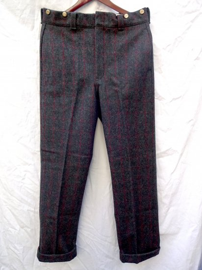 80's Vintage Dead Stock LL BEAN Wool Trousers MADE IN U.S.A