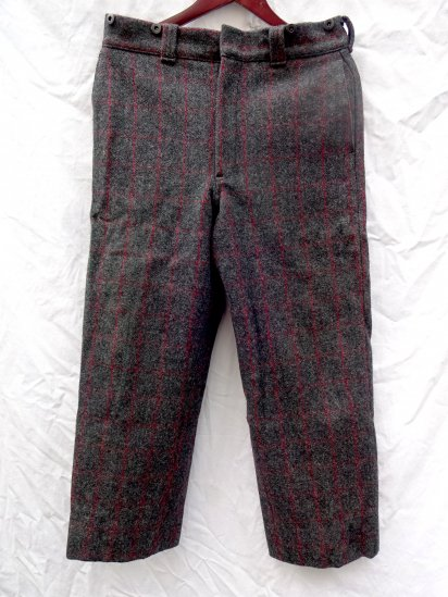 80's Vintage Woolrich Wool Trousers MADE IN U.S.A