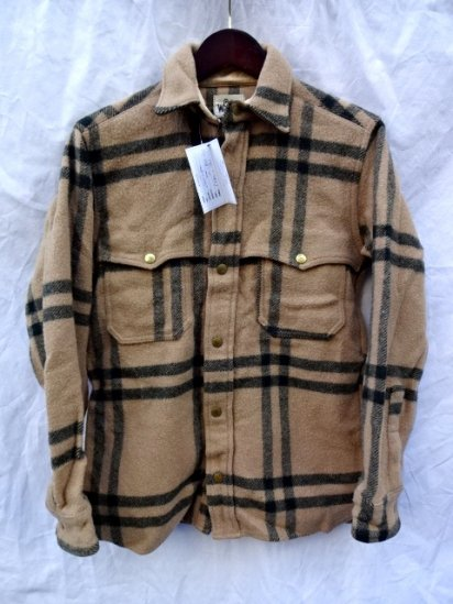 70's Vintage Woolrich Wool Shirts Jacket