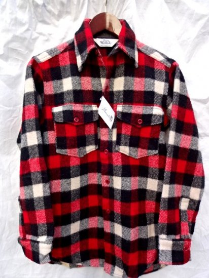 70's Vintage Woolrich Wool Shirts Mint Condition