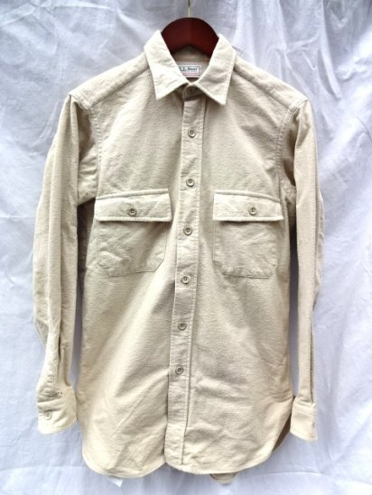 80's〜 Vintage LL BEAN Chamois Shirts  MADE IN U.S.A