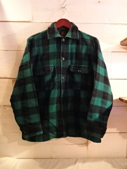 60's Vintage Sportland Wool Shirts Jakcet Made in Canada