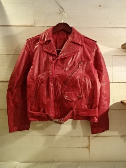 70's Vintage Leather Riders<BR>SALE! 19,800 + Tax → 9,800 + Tax