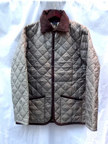 LAVENHAM Quilted Jacket Made in England Brown