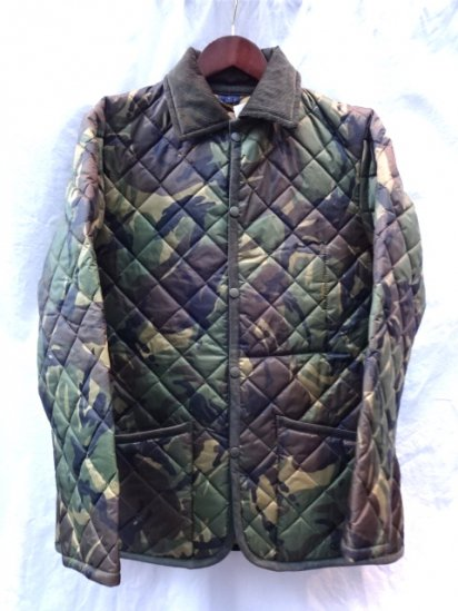 LAVENHAM Quilted Jacket Made in England Camo