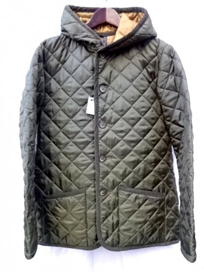 LAVENHAM Quilted Jacket DENSTON Made in England  Olive