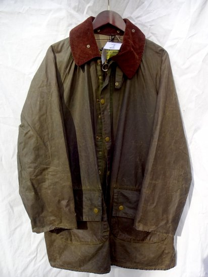 Yellow Tag Vintage Barbour Gamefair? MADE IN ENGLAND