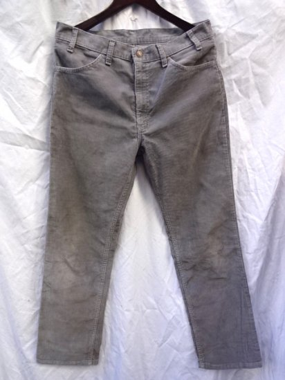 90's Vintage Levi's 519 Made in U.S.A Gray