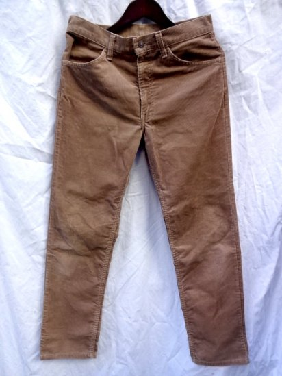 90's Vintage Levi's 519 Made in U.S.A Brown