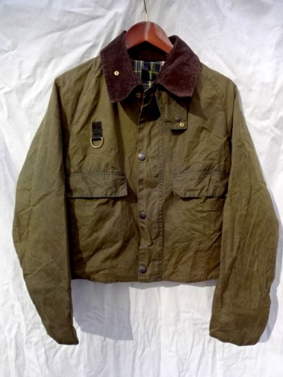 3 Crest Vintage Barbour SPEY JACKET Made in England Good Condition