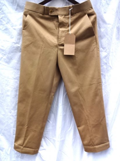 RICHFIELD C-2 Superior Pima Cotton Chino Trousers MADE IN JAPAN